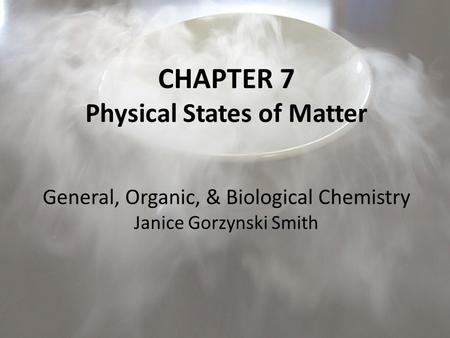 Physical States of Matter