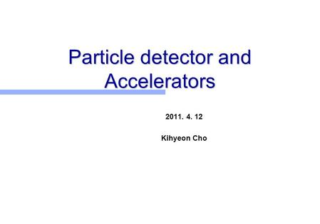 an overview of the experiments with particle accelerators The most powerful modern particle accelerators use versions of the synchrotron  and heavy particle cyclic accelerators,  quality x-ray experiments in.