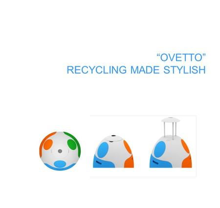 """OVETTO"" RECYCLING MADE STYLISH. Italian Architect and Interior Designer Gianluca Soldi, deeply involved on environmental and social issues, has designed."