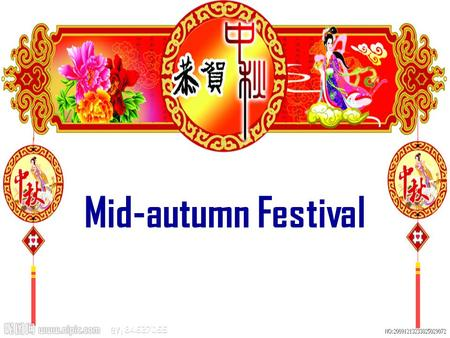 Mid-autumn Festival Mooncakes Full Moon Family Reunion Archer Hou Yi Lady Chang'E.