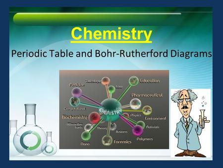 Chemistry Periodic Table and Bohr-Rutherford Diagrams.
