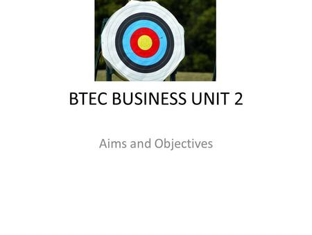 BTEC Assignment Unit 1 The Business Environment P5