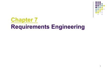 1 Chapter 7 Requirements Engineering. 2 Requirements Engineering Tasks Inception Elicitation Elaboration Negotiation Specification Validation.