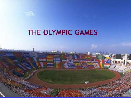 THE OLYMPIC GAMES Revision Look at the pictures and tell what sports they are.