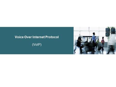 Voice Over Internet Protocol (VoIP). Basic Components of a Telephony Network.