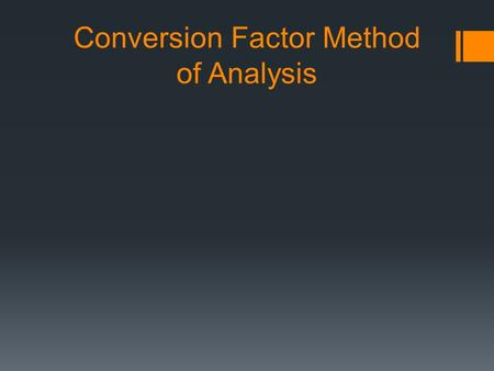 an analysis of factoring method In multivariate statistics, exploratory factor analysis (efa) is a statistical method used to uncover the underlying structure of a relatively large set of variablesefa is a technique.