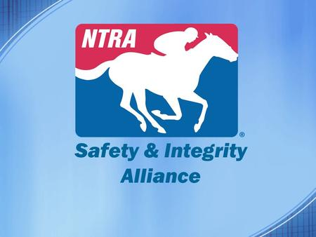 Safety & Integrity Alliance. Injury Reporting and Prevention - Participation in TJC/InCompass Solutions Equine Injury Database System - Pre-Race Veterinary.
