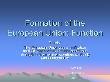 thesis euroscepticism The phenomenon of euroscepticism is studied in this paper by example of the full text of a thesis can be published in open access on the hse website only.