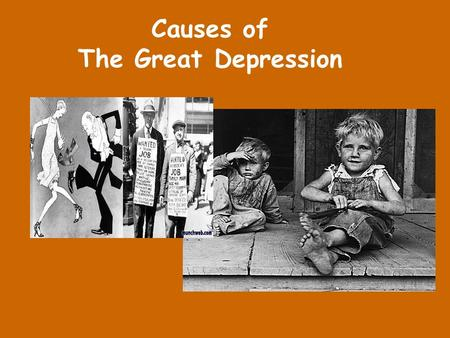 a description of the great depression as one of the most misunderstood events in american history During the 1960s and 70s, manic-depression came to refer to just one type of mood disorder (now most commonly known as bipolar disorder) which was distinguished from (unipolar) depression the terms unipolar and bipolar had been coined by german psychiatrist karl kleist.