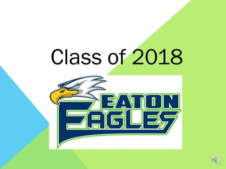 Class of 2018 KNOW YOUR COUNSELOR – WE ARE HERE FOR YOU! Shana Greenwood – Last Names A-E Irene Myers – Last Names F-M Rebecca Kelley – Last Names N-Z.