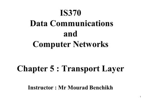 chapter 1 forouzan data communications and Behrouz a forouzan  chapter 1 introduction chapter 2 network models part  2: physical layer chapter  chapter 4 digital transmission chapter 5 analog.