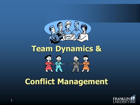 Team dynamics and conflict resolutions in