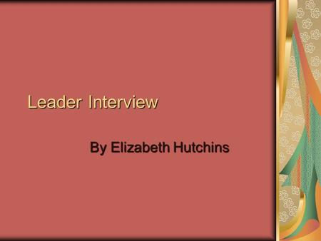 "Leader Interview By Elizabeth Hutchins. Althea D. Ruffin, Ed. M. Research Project Manager at University of Pennsylvania ""Biostatistics and Epidemiology"""