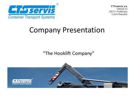 """The Hooklift Company"""