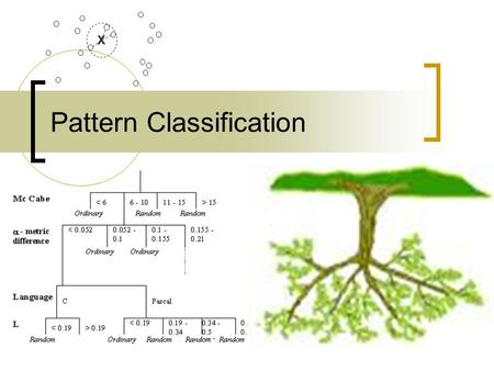 1 Pattern Classification X. 2 Content General Method K Nearest Neighbors Decision Trees Nerual Networks.