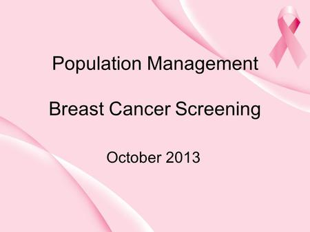 current breast cancer screening guidelines