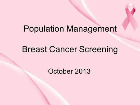 management of breast cancer pdf