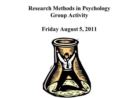 psychology and its research methods Read more reviews & endorsements 'this is by far the most comprehensive  and cutting-edge collection of research methods in social and personality.