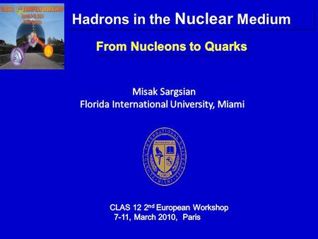 Hadrons in the Nuclear Medium. I. QCD dynamics of Hadron-Hadron Interaction I. QCD dynamics of Hadron-Hadron Interaction IV. Protons in the Superdense.