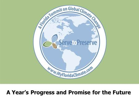 A Year's Progress and Promise for the Future. State Leadership www.climatestrategies.us Center for Climate Strategies.