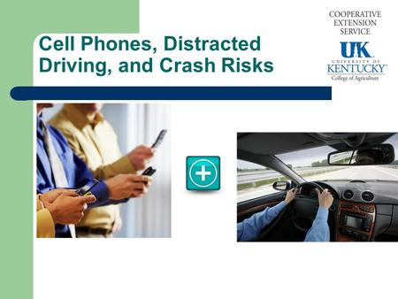 Cell Phones, Distracted Driving, and Crash Risks.