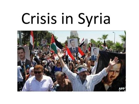 Crisis in Syria. How did the protests start? The unrest began in the southern city of Deraa in March when locals gathered to demand the release of 14.
