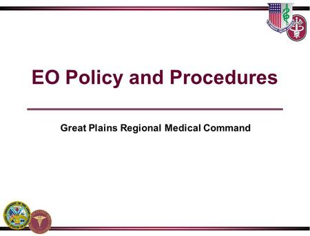 EO Policy and Procedures