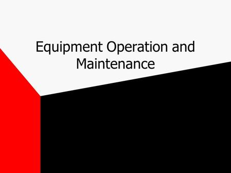 Equipment Operation and Maintenance. Grid-controlled tube Designed to turn on and off rapidly, providing short precise exposures Use in fluoro and in.