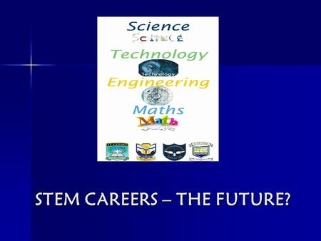 STEM CAREERS – THE FUTURE?. WHAT IS STEM? Choosing a career is one of the most important decisions you will ever make, for it will have a significant.