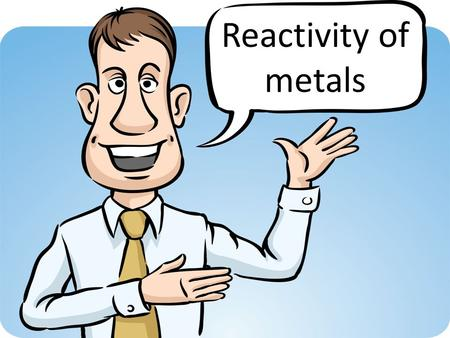 Reactivity of metals. D ISPLACEMENT R EACTIONS Magnesium Sulphate Zinc Sulphate Iron Sulphate Copper Sulphate Magnesium Zinc Iron Copper.