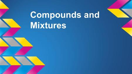 Compounds and Mixtures. The Periodic Table Contains 118 known elements. periods groups It´s organised in rows ( periods ) and columns ( groups ). periods.
