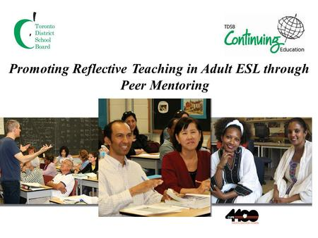Promoting Reflective Teaching in Adult ESL through Peer Mentoring.