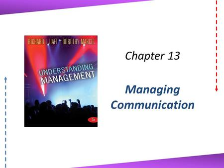 Chapter 13 Managing Communication. (c)2011 Cengage Learning. All Rights Reserved. May not be scanned, copied or duplicated, or posted to a publicly accessible.