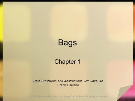 Data Structures and Abstractions with Java, 4e Frank Carrano