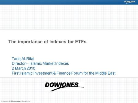 The importance of Indexes for ETFs