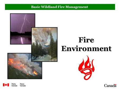Basic Wildland Fire Management Fire Environment. Objectives Upon completion of this section, you will be able to: 1.Explain significance of cold fronts,