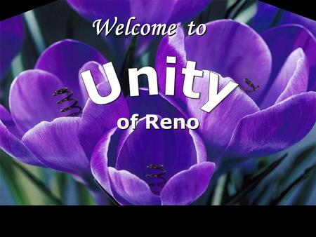 Welcome to of Reno. God is the free cause of all things.