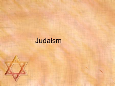 Judaism. Jew vs. Hebrew Jew: one who follows Judaism Hebrew: original name for followers of the religion.