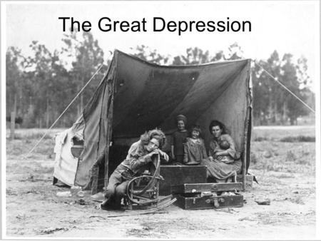 The Great Depression. 20's Keep Roaring Americans make more than ever –1922 National Income= $61 Bill. –1929 National Income= $87 Over 23 million cars.