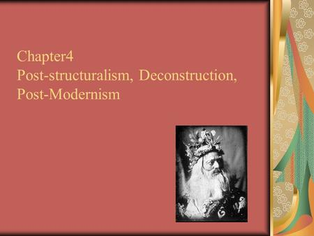relationship between postmodernism and post structuralism wikipedia