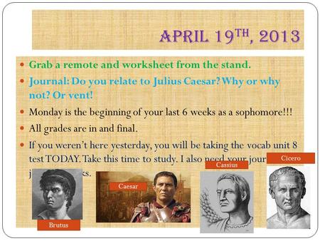 an overview of the role of brutus in julius caesar a play by william shakespeare Julius caesar summary  considering political history in the centuries after shakespeare wrote julius caesar  brutus is also the only character in the play to.