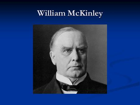 William McKinley. Open Door Policy. This stated that all nations should have equal trading rights regardless of spheres of influence This stated that.