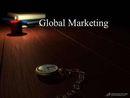 Global Marketing. Coordinated performance of marketing activities to create exchanges across countries that satisfy individual, organizational, and societal.