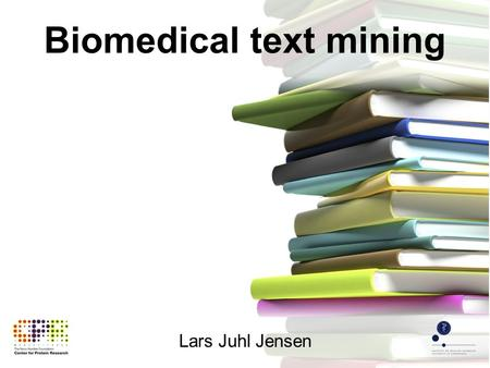 Lars Juhl Jensen Biomedical text mining. exponential growth.