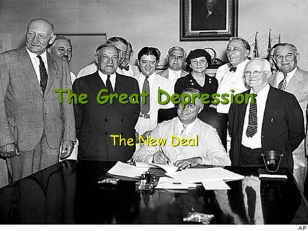 The Great Depression The New Deal. Federal Emergency Relief Administration 1933 Sent millions of dollars to states to use in direct relief payments and.