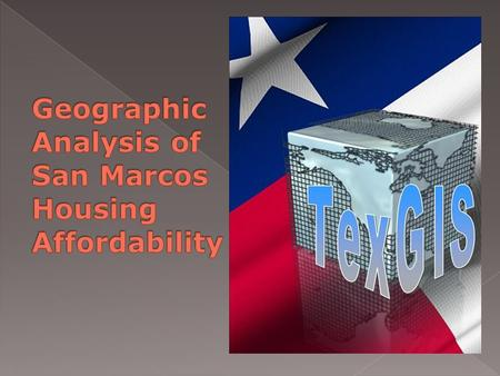  Affordable housing in San Marcos, TX is in short supply.  Housing is unavailable for certain income levels.  The ratios between rent-occupied and.