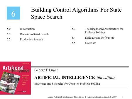 Building Control Algorithms For State Space Search.