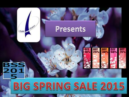 Arabian Resources presents Big Spring Sale 2015 in partnership with CornerStone Event Management. Great Opportunity for : Retail, Fashion, FMCG, Electronics,
