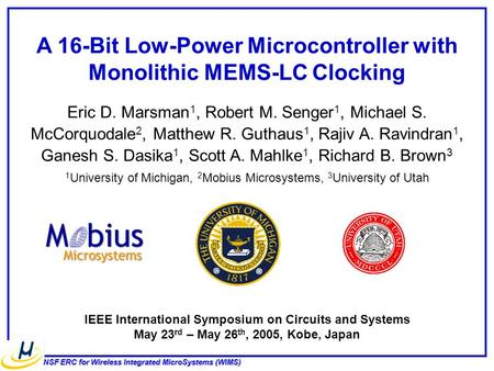 A 16-Bit Low-Power Microcontroller with Monolithic MEMS-LC Clocking