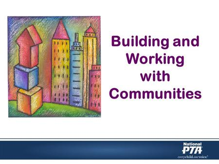 Building and Working with Communities. Define neighborhood and community Identify needs and assets of each Examine current comfort zone and environment.